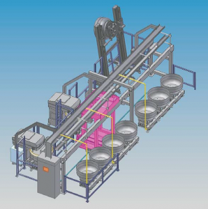 Linear auto plant